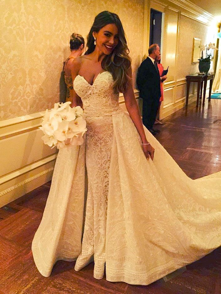 5a43bdbded9a The 54 Best Celebrity Wedding Dresses of All Time