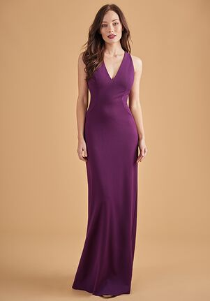 Belsoie Bridesmaids by Jasmine L204062 V-Neck Bridesmaid Dress