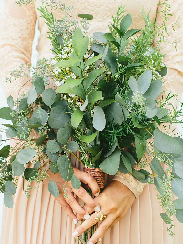 The Prettiest Greenery Bouquets Weve Ever Seen