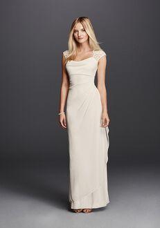 David's Bridal DB Studio Style XS3450 Sheath Wedding Dress