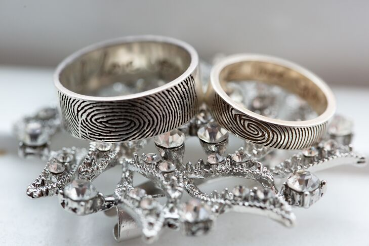 Modern Fingerprint Rings