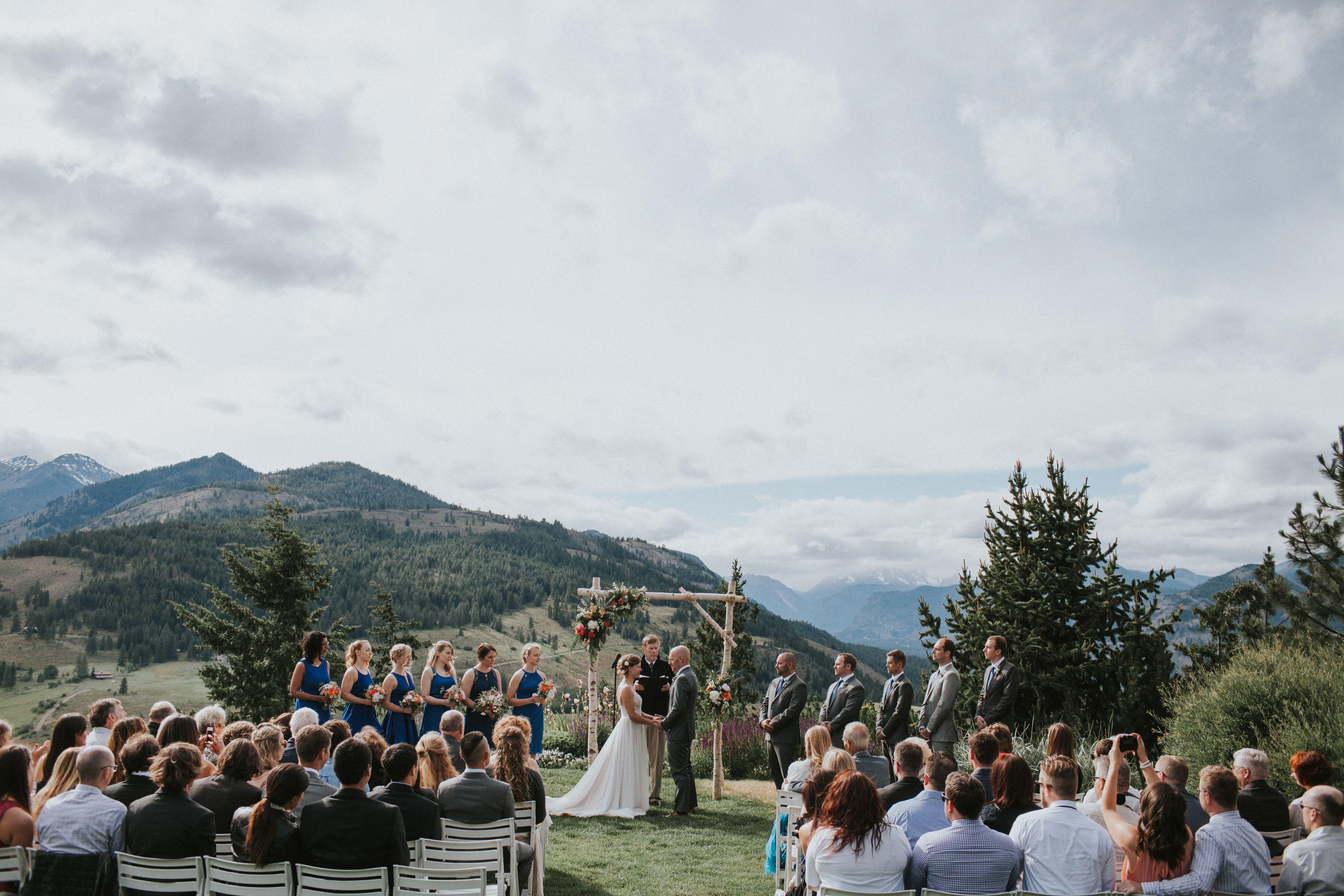 Sun Mountain Lodge Reception Venues Winthrop Wa