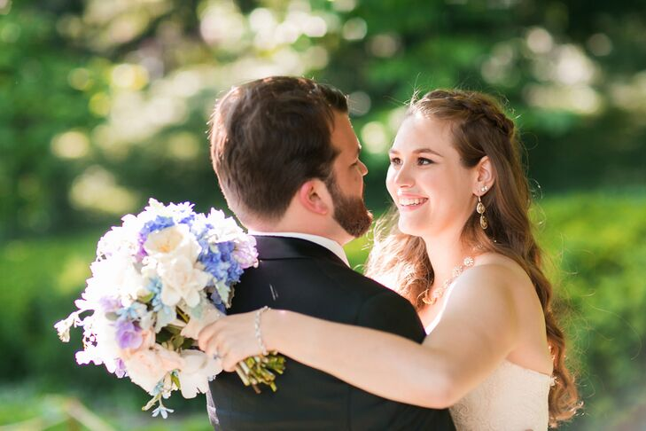 Alexandra Rosenburg (26 and a production assistant) and William Floyd (27 and a PhD student) always knew they wanted to have their wedding in New York