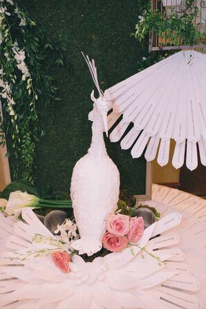 Handmade Paper Peacock