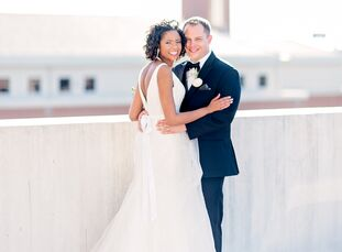 After going back and forth a number of times on the theme for her wedding to Derek Smith (35 and works in marketing and sports b