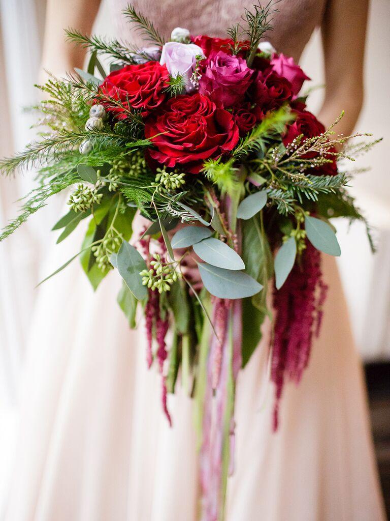 15 Cascading Wedding Bouquets