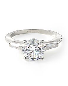 James Allen Classic Round Cut Engagement Ring