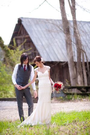 Emily and Austen's Rustic-Chic Farm Wedding