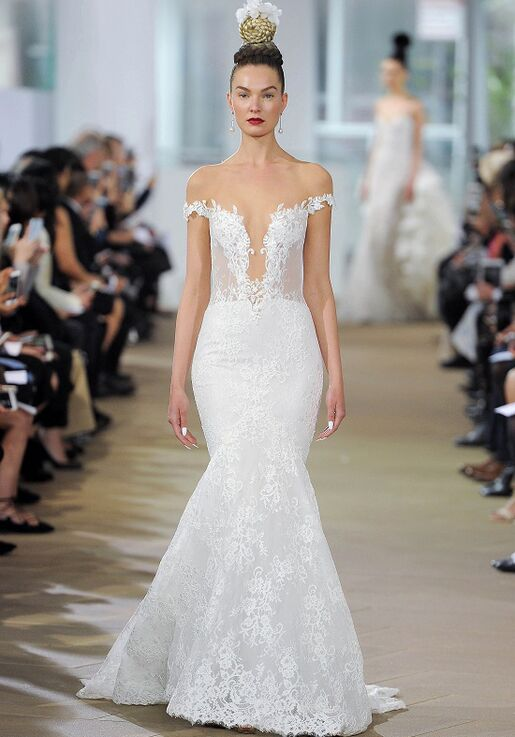 Ines Di Santo Haydon Mermaid Wedding Dress