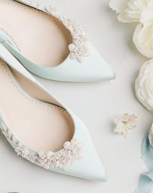 Bella Belle DAISY BLUE Blue Shoe