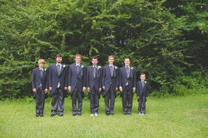 Classic, Traditional English Groomsmen Suits