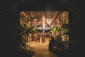 Barn Reception at Timber Creek Camp in Pulaski, Mississippi