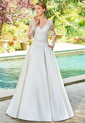 Simply Val Stefani S2054 Top / S2064 Skirt Ball Gown Wedding Dress