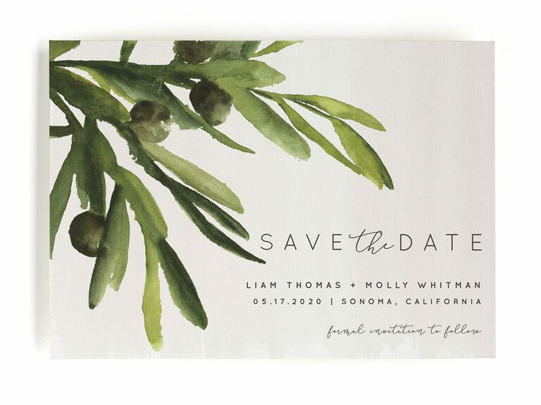 Olive Bough save-the-dates
