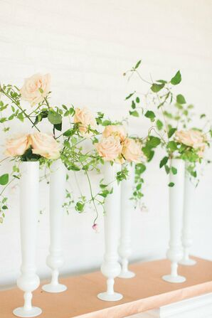 Peach Wedding Decorations Accents