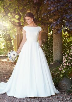 Essense of Australia D2274 A-Line Wedding Dress
