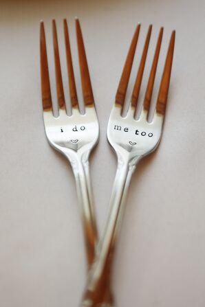 Customized Dessert Forks