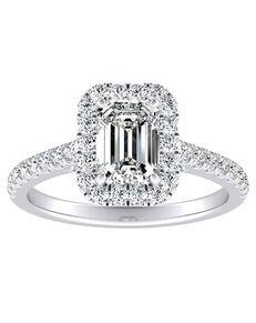 DiamondWish.com Classic Princess, Asscher, Cushion, Emerald, Marquise, Pear, Round Cut Engagement Ring