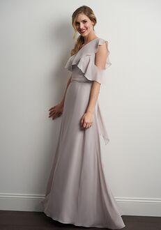 JASMINE P206054 One Shoulder Bridesmaid Dress
