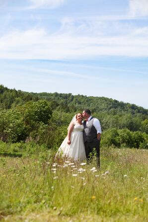Destination Rustic Maine Wedding