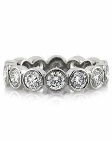 Mark Broumand Unique Round Cut Engagement Ring