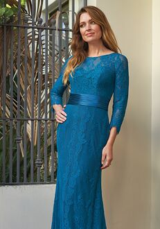 Jade Mother of the Bride by Jasmine J205068 Blue Mother Of The Bride Dress