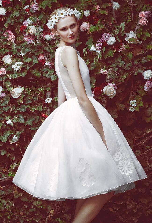 Honor for Stone Fox Bride Fall 2015 Wedding Dresses | blog.theknot.com