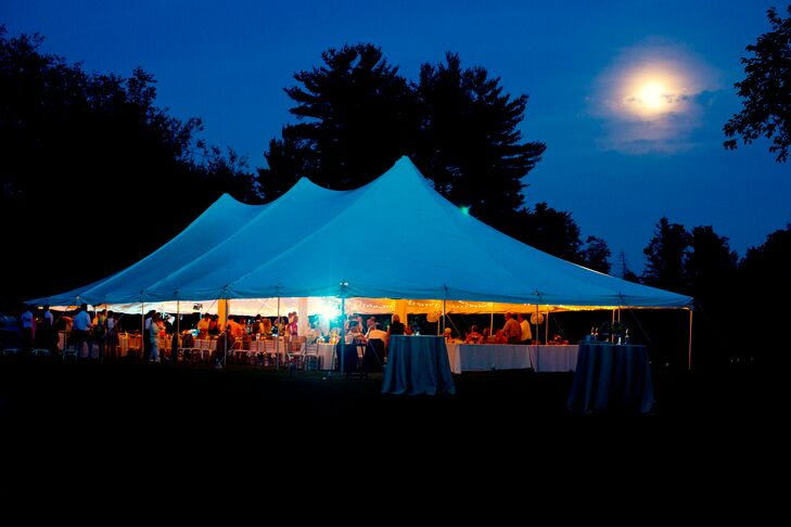 Tented New Jersey Country Reception