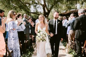 Chic, Bohemian Outdoor Ceremony