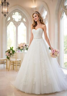Stella York 6461 Ball Gown Wedding Dress