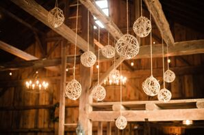 Suspended Twine Lanterns