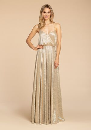 Hayley Paige Occasions 5953 V-Neck Bridesmaid Dress