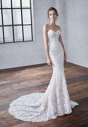 Badgley Mischka Bride Celine Mermaid Wedding Dress