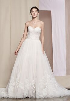 Justin Alexander Signature Fleur Ball Gown Wedding Dress