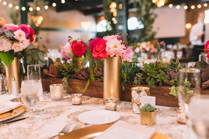 "The couple hired wedding planner Nadia from Simply Elegant to help pull together the details. Connie, a self-described ""control freak,"" says it was one of the smartest things she did."