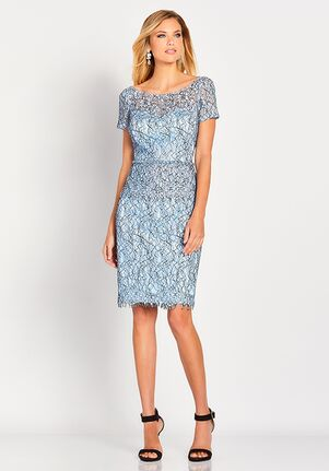 Social Occasions by Mon Cheri 119827 Blue Mother Of The Bride Dress