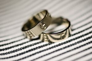 Gold Cartier Love Rings
