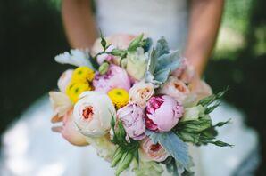 DIY Garden-Inspired Bridal Bouquet