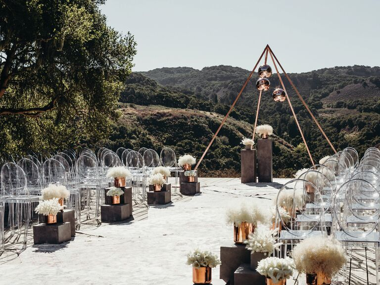Outdoor Wedding Venues Carmel Valley Ranch