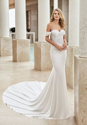 Off The Shoulder Wedding Dresses The Knot