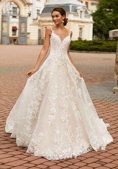 Moonlight Couture H1463 A-Line Wedding Dress