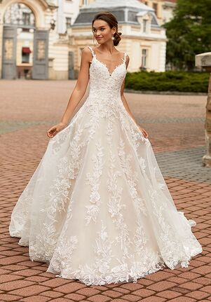 Moonlight Couture H1463 A-Line Wedding Dress
