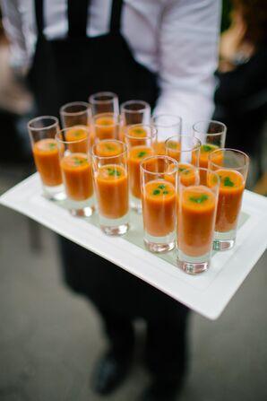 Tomato Soup Shooters