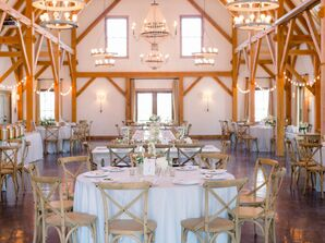 Rustic Barn Wedding Reception in Fayette, Missouri