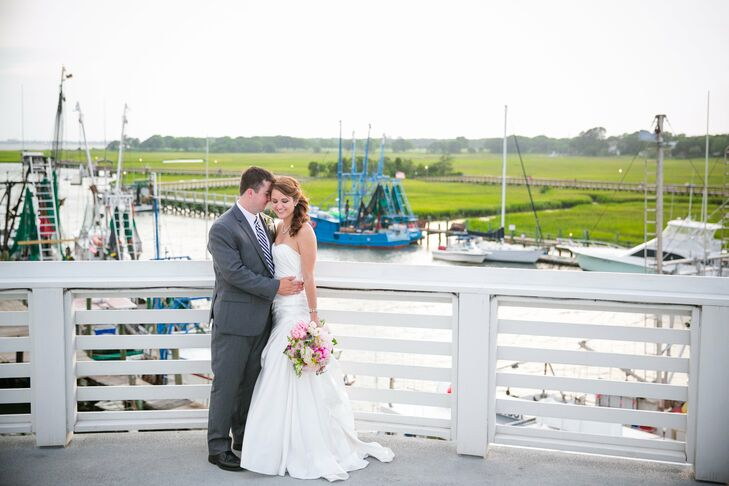 Callie Peacock (24 and an international business analyst) and Brian Eggleston (24 and a software consultant) met in school at Stetson University in Fl