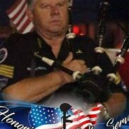 Rinard, IL Bagpipes | 1ST OFFICIAL GOV. BAGPIPER FOR PEAR HARBOR