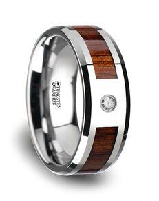 Mens Tungsten Wedding Bands W3765-TCKW Tungsten Wedding Ring
