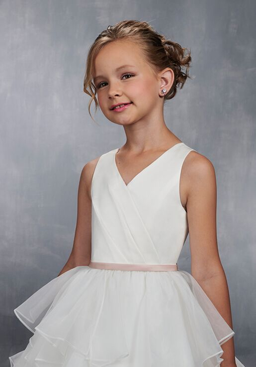 Mary's Angel by Mary's Bridal MB9033 White Flower Girl Dress