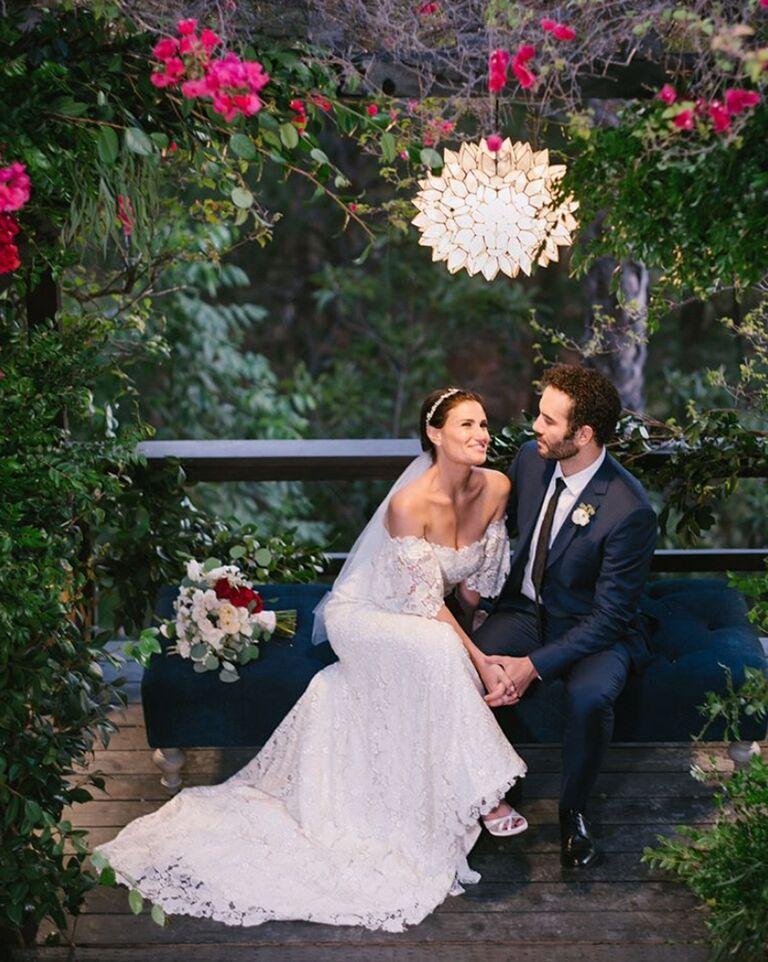 Idina Menzel Wedding Dress
