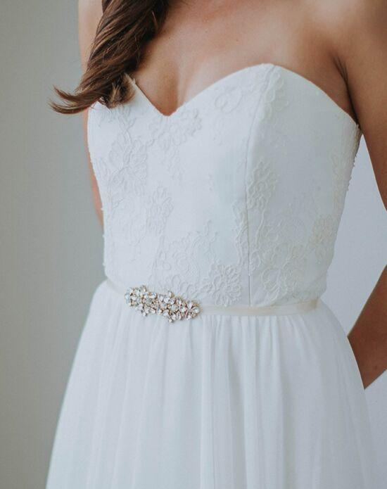 Davie & Chiyo | Sashes & Belts Petite Pollux Sash Wedding Sash - The ...